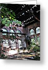 Abandoned Power House Greeting Card