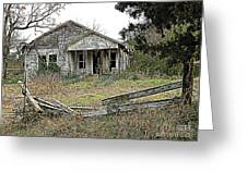 Abandoned Property Greeting Card