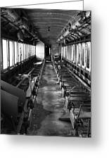 Abandoned Railcar Greeting Card