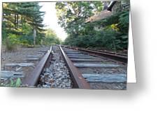 Abandoned Railroad 1 Greeting Card