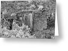 Abandoned Root Cellar - Alstown - Washington - May 2013 Greeting Card