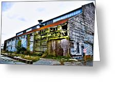 Abandoned Warehouse On The Swinomish Channel - La Conner Washington Greeting Card
