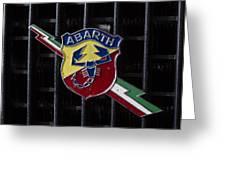 Abarth Emblem Greeting Card