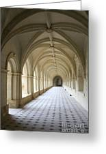 Abbaye De Frontevraud  Cross Coat Greeting Card
