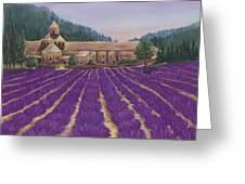 Abbaye Notre-dame De Senanque Greeting Card