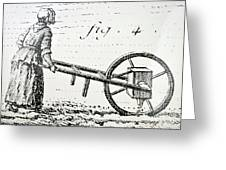 Abbe Soumille's Seed Drill Greeting Card