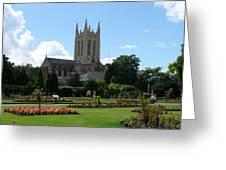 Abbey Gardens Greeting Card