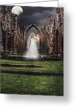 Abbey Ghost Greeting Card