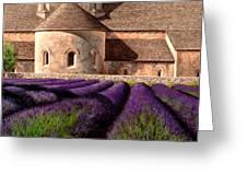 Abbey Lavender Greeting Card