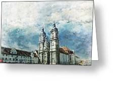 Abbey Of St Gall Greeting Card