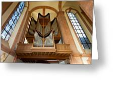 Abbey Organ Greeting Card