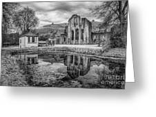 Abbey Reflections Greeting Card