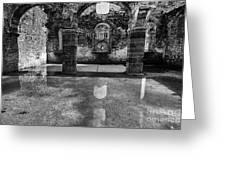 Abbey Ruins Greeting Card