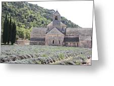 Abbey Senanque  Greeting Card