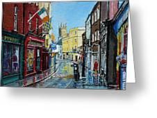 Abbey Street Ennis Co Clare Ireland Greeting Card