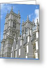 Abbey Towers Greeting Card