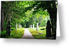 Abby Aldrich Rockefeller Path Statuary Greeting Card