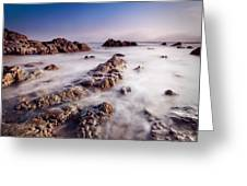 Aberffraw Fog Greeting Card