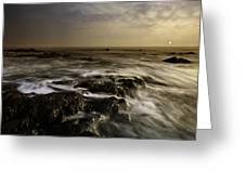 Aberffraw Sunset Greeting Card