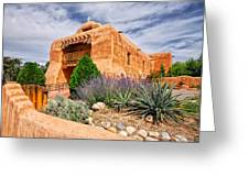 Abiquiu Mission Church Greeting Card