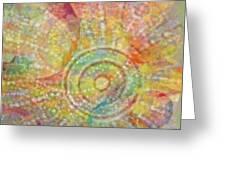 Aboriginal Instincts 1 Greeting Card