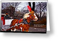Abound In Hope Greeting Card