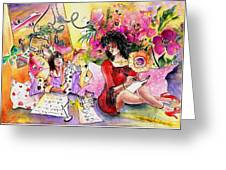 About Women And Girls 16 Greeting Card