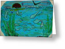 Above And Beneath The Sea Greeting Card