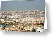Above Lisbon Portugal Greeting Card