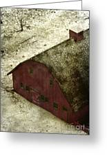 Above The Barn Greeting Card