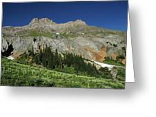 Above The Fruited Plains Greeting Card