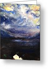 Above The Storm Greeting Card