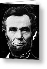 Abraham Lincoln 1 Alexander Gardner Photo Washington D.c. C. 1864 Greeting Card