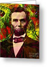 Abraham Lincoln 2014020502p28 Greeting Card
