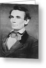 Abraham Lincoln Greeting Card