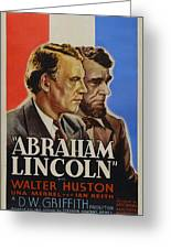 Abraham Lincoln Greeting Card