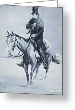 Abraham Lincoln Riding His Judicial Circuit Greeting Card