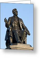 Abraham Lincoln Statue Philadelphia Greeting Card
