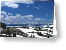 Absaroka Range Greeting Card