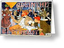 Vintage ABSINTHE BERTHELOT Print on Paper or Canvas Giclee Poster13X18 to 44X60