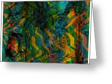 Abstract - Emotion - Apprehension Greeting Card