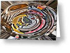 Abstract - Vehicle Recycling Greeting Card
