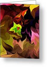 Abstract 012014 Greeting Card