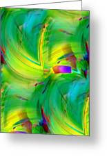 Abstract 019 Greeting Card