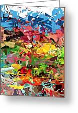 Abstract 022315 Greeting Card