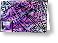 Abstract-04 Greeting Card