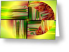 Abstract 0411 Greeting Card