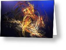 Abstract 042113a Greeting Card