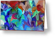 Abstract 062713 Greeting Card