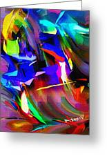 Abstract 082713d Greeting Card